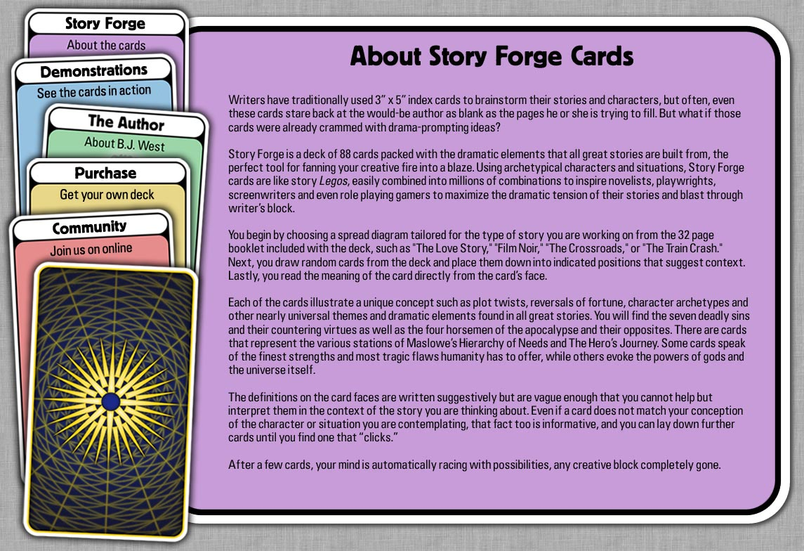Story Forge Cards - Introduction